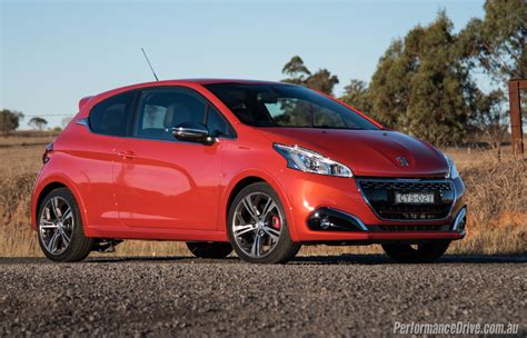 peugeot gti 2016 peugeot 208 gti review video performancedrive