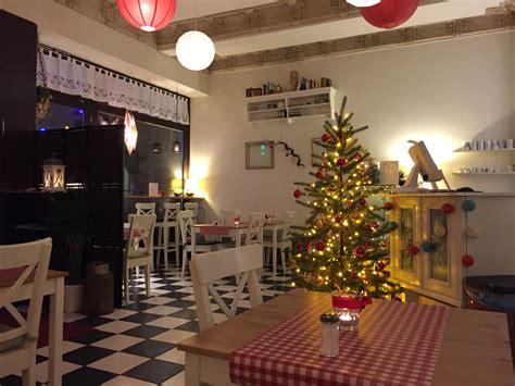 Weihnachtsdeko Zum Essen by Bistro Fr 228 Nzi Vegan Vegetarisch In Der Langen Reihe