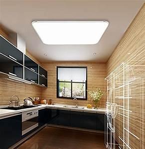 Deckenlampe Küche Modern : 18w kaltwei led modern deckenlampe ultraslim deckenleuchte schlafzimmer k che flur wohnzimmer ~ Frokenaadalensverden.com Haus und Dekorationen