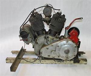 1924 Antique Indian Scout 37 U0026quot  Motorcycle Engine  Complete