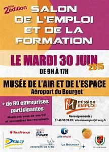 Salon de l emploi et de la formation à Drancy le 30 juin 2015
