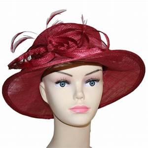 Chapeau Anglais Femme Mariage : chapeau mariage rose bordeau vannerie sana ~ Maxctalentgroup.com Avis de Voitures