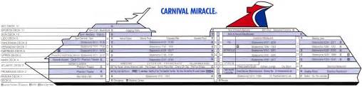 carnival cruise ship deck plan design bild