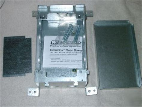 Wiremold Floor Box 880s2 by Wiremold Walker Outlet Floorbox 880s2 Two Steel