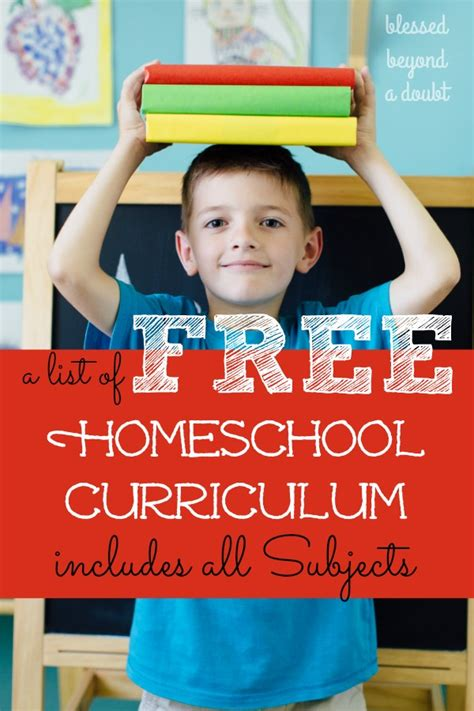 full list   homeschool curriculum