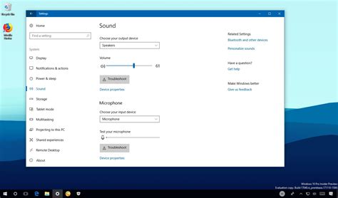 how to change sound and microphone using settings on windows 10 pureinfotech