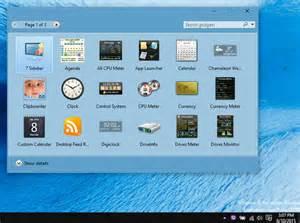 Windows 1.0 Desktop Gadget Gallery