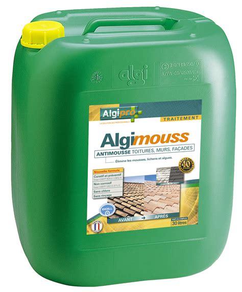 anti mousse pour toiture murs et fa 231 ades algimouss