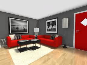 red and grey living room walls nakicphotography