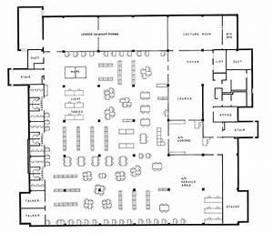 Cafe Kitchen Layout Architecture Design