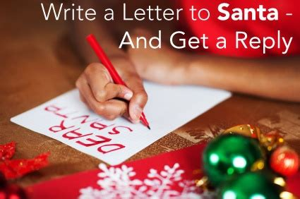write a letter to santa write to santa and get a letter back note a letter and 9593