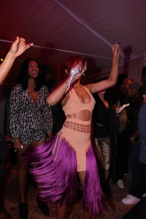 Mail Bombs Rihanna And Ciara In Mark Fast, Shaunie O'neal