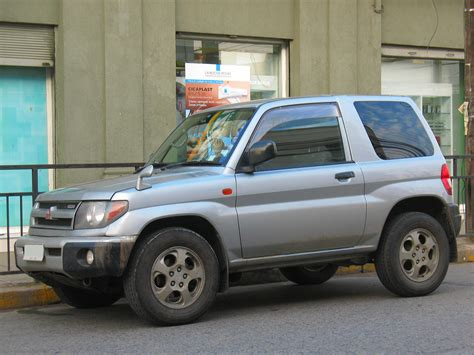 mitsubishi pajero io 1998 mitsubishi pajero io pictures information and