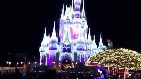 walt disney world magic kingdom lights parade 2016