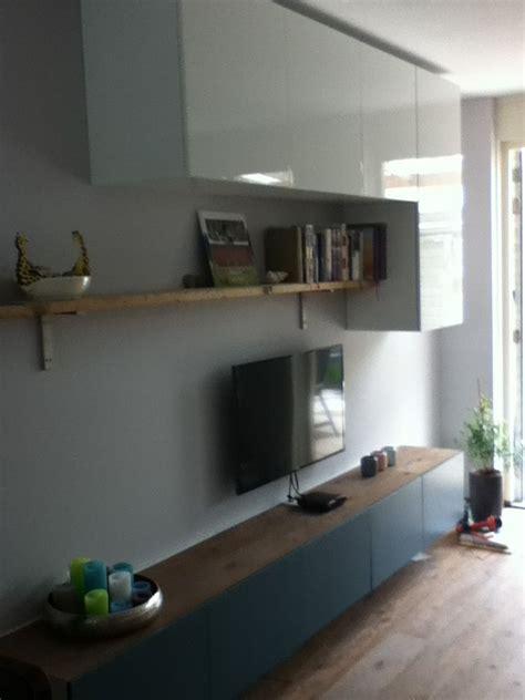 Ikea Besta Cupboard by Ikea Besta Kast Met Eigen Plank Ertussen House Idee