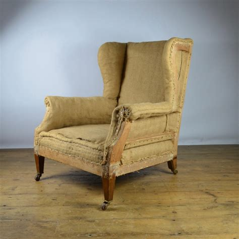 chair reupholstery edwardian english wing chair reupholstery inc c273 438092 sellingantiques co uk