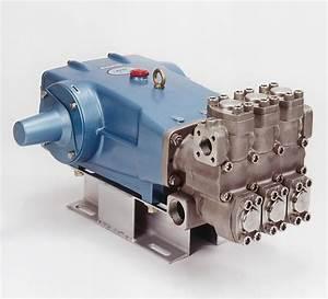 Triplex Plunger Pump W   Duplex Stainless Steel Head  Cat