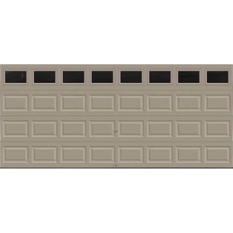16 Ft Garage Door by Clopay Premium Series 16 Ft X 7 Ft 18 4 R Value