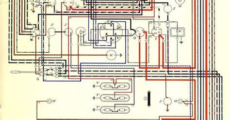 wiring diagram vw transporter the samba vw kaffer