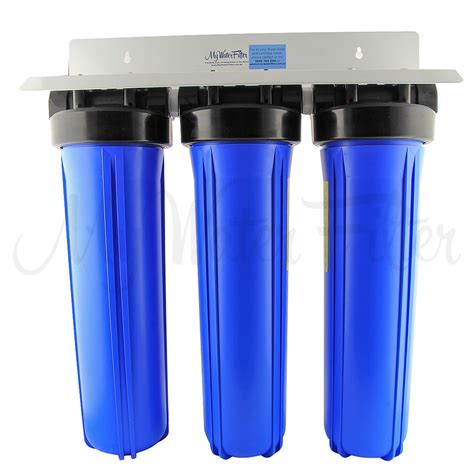 sink water filter mwf 20 quot x 4 5 quot big blue whole house water filter