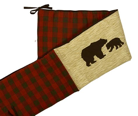 Northwoods Crib Bedding by Northwoods 3pc Crib Bedding Set At The Trendy Bed
