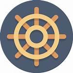 Icon Wheel Circle Ship Svg Icons Shipwheel