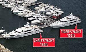 Tiger Woodss Yacht Was Parked Right Next To Elins