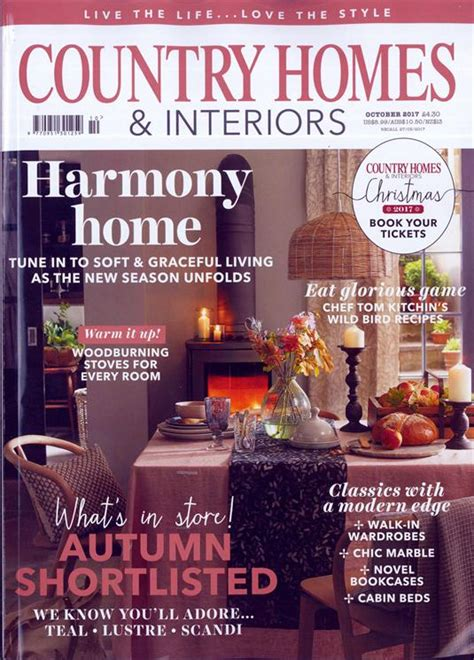 country homes and interiors subscription country homes interiors magazine subscription buy at newsstand co uk home interiors