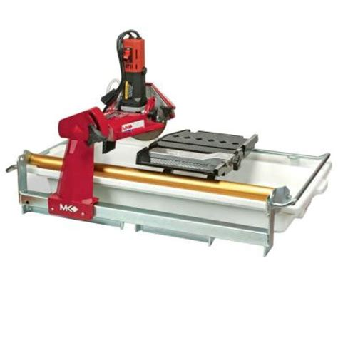 Mk 170 Cutting Tile Saw by Mk Mk 770exp 7 In Tile Saw 160267 The Home Depot