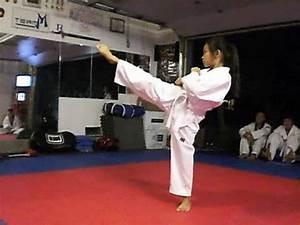 Team-M Taekwondo: Amazing White Belt - YouTube