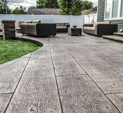 Stamped Concrete Services In Shreveport, Bossier City
