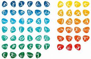 Rio's Olympic Games pictograms are a winner Design Agenda Phaidon
