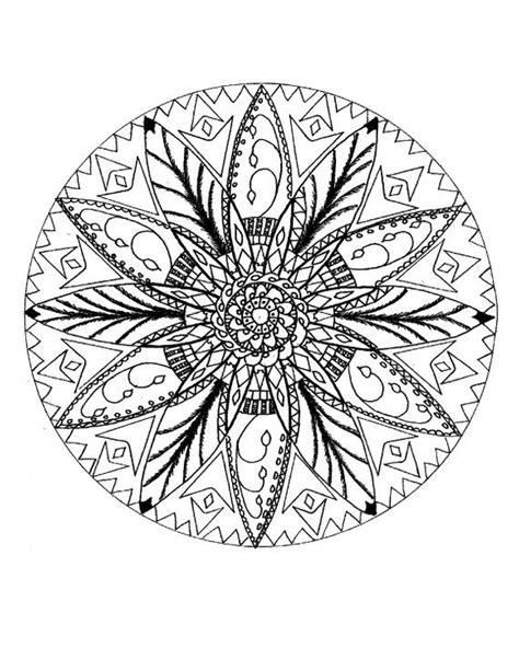 Printable digital download, Native American mandala, Adult coloring page   Mandala, Coloring