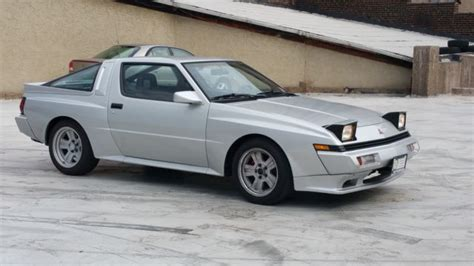 1988 Mitsubishi Starion Turbo, Excellence Condition