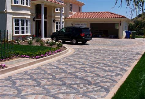 how to design a driveway interlocking concrete paver driveway design by genesis driveway designs pinterest