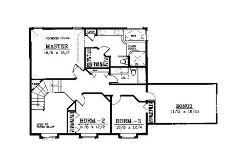 House Plan 91618 Traditional Style with 2909 Sq Ft 4