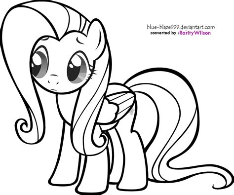 pony fluttershy coloring pages minister coloring