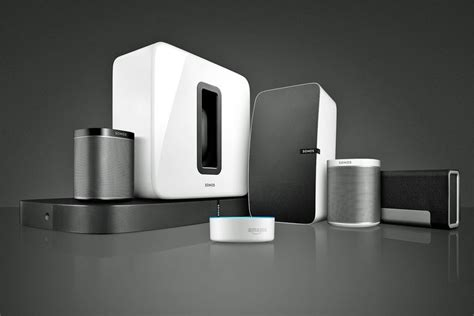 sonos speakers echo connect dot amazon wireless system room sound systems