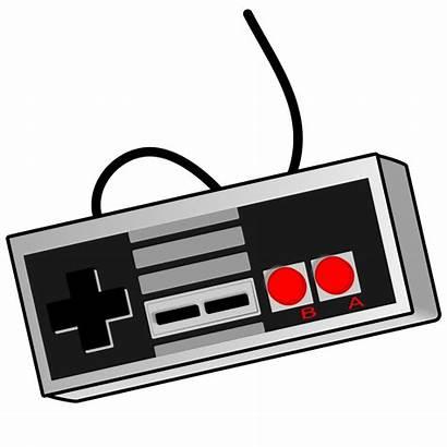 Svg Retro Gamepad Pixels Kb Controller Nintendo