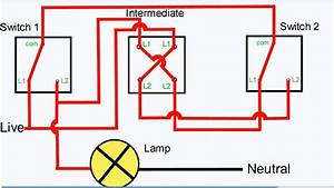 3 Way Switch Wiring Diagrams How To Install - Youtube