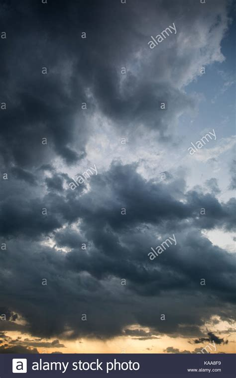 dramatic cloudy sky background overlay  sunset stock