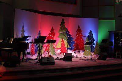 church stage decorating ideas christmas stage design