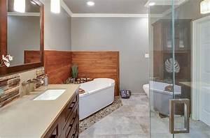 Exemple De Petite Salle De Bain : petite salle de bain amenagement deco maison moderne ~ Dailycaller-alerts.com Idées de Décoration
