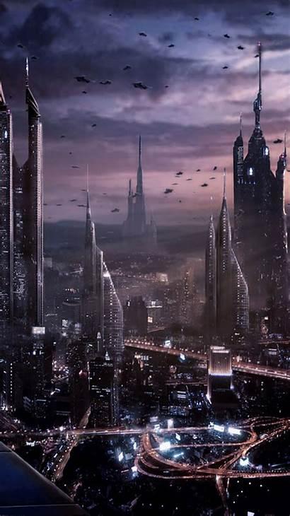 Futuristic Future Iphone Wallpapers Desktop Sci Fi