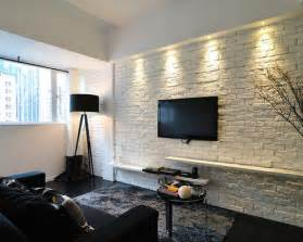 kitchen l shaped island white brick wall home design ideas pictures remodel and