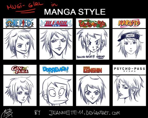 Different Style Anime