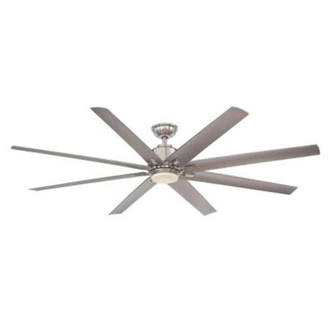 kensgrove 72 ceiling fan home decorators collection kensgrove 72 in led brushed
