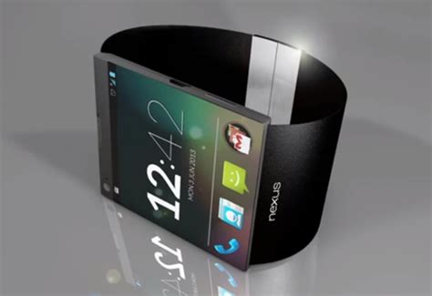 this nexus smartwatch concept has every feature to