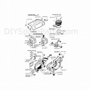 Diagrams Of Chainsaws