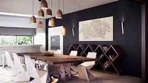 Esszimmer Modern Einrichten : esszimmer pendelleuchten modern design holztisch esszimmer pinterest pendelleuchten ~ Markanthonyermac.com Haus und Dekorationen